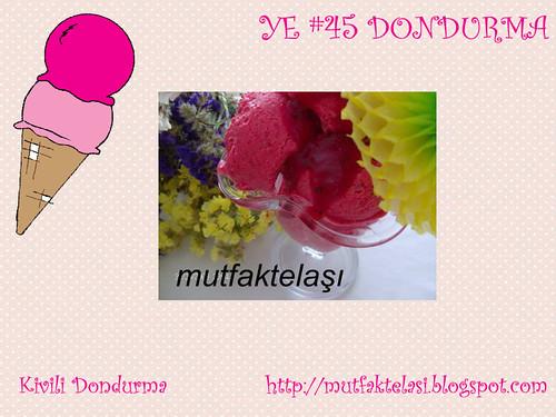 Kivili Dondurma - Mutfak Telasi