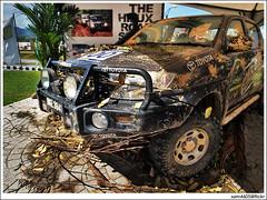 Toyota Hilux Road Show - 1Borneo Kota Kinabalu - Rainforest Challenge Centipede Tyres (sam4605) Tags: show road landscape 4x4 extreme 4wd malaysia borneo toyota vehicle kotakinabalu sabah fourwheeldrive trekker hilux simex sabahborneo 1borneo rainforestchallenge sam4605