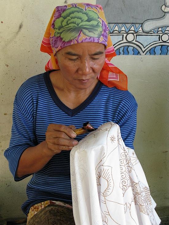 Batik Woman