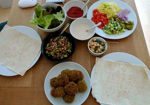 Falafel Fixins