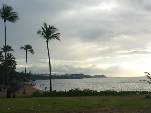 View to the Old San Juan