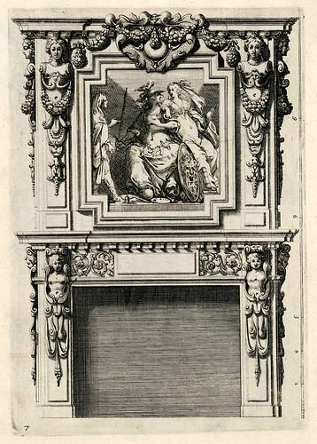 003-Livre d'architecture d'autels, et de cheminees- Barbet Jean-1633- © Institut national d'histoire de l'art