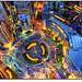 Birdseye view of Columbus Circle, NYC