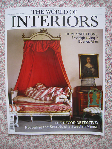 The World Of Interiors: June 2009 Cover