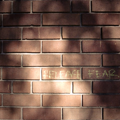 Release Fear, Ybor City Tampa (jacob schere [in the 03 strategically planning]) Tags: old city brick wall tampa square graffiti march town florida jacob fear release memories communication part graff ybor lucid scribble 2010 scribbling schere yborcity grii 落書き グラフィティ jacobschere lucidcommunication