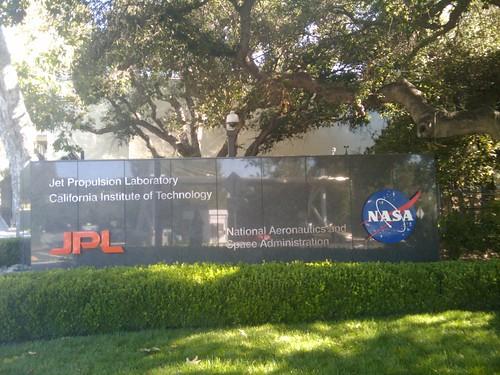 Working today at NASA JPL. Sueños que se hacen realidad...