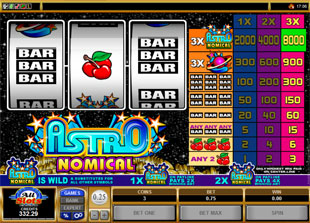 Astronomical slot game online review