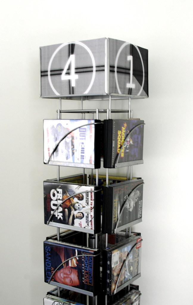Calendar-dvd rack: After
