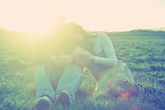 LOOOVOEVEOEOTEGVEEVE (Lumiere Du soleil) Tags: life pink sunset sky grass lens cool rainbow rachel pretty indie flare