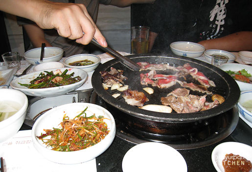 Korean BBQ in Korea