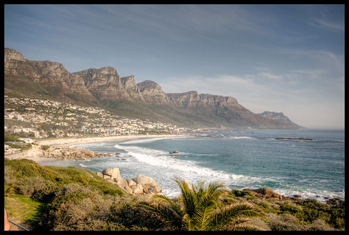 Cape Town sea and mountain views