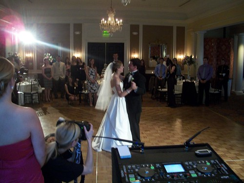 belle haven country club, wedding DJ, ballroom, wedding