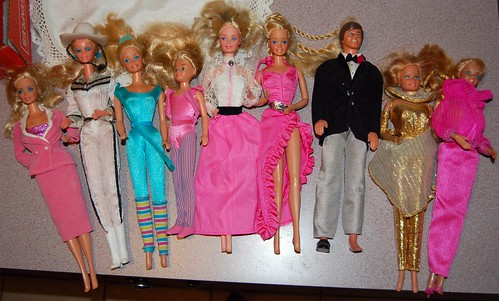 Barbie Dolls 80s Collection 80s Barbie Collection