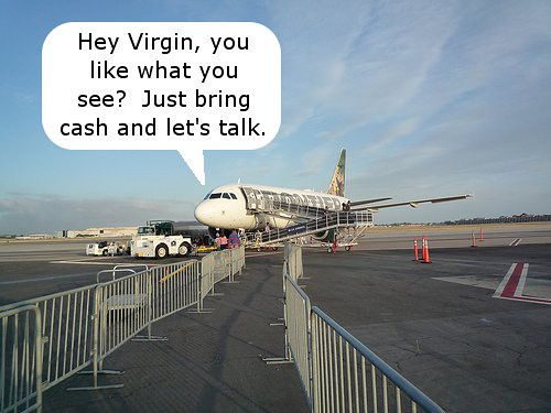 Frontier and Virgin?