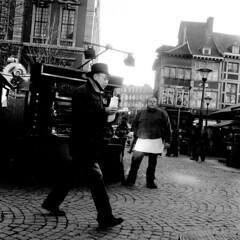 Liege (Peter Gutierrez) Tags: street old city houses people urban bw white black streets film public shop contrast square town photo europe european belgium belgique belgie pavement centre belgi center sidewalk peter shops gutierrez belgian liege narrow centrum luik contrasty lige wallon wallonie wallonia liegois wallone petergutierrez ligois liegoise ligoise liegoises ligoises