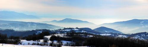 panorama from village Shivachevo