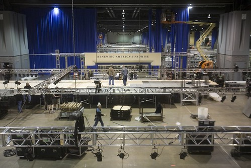 Inaugural Ball Staging by Presidential Inaugural Committee.