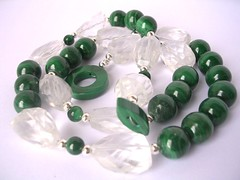 Rich green malachite