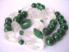 Rich green malachite