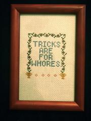 Illusions Michael (Stitch Out Loud) Tags: crossstitch tricks whore arresteddevelopment bluth stitchoutloud