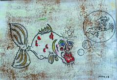 Je bulle (louisphilippevivien) Tags: paint rawart dessin peinture artbrut tableau toile peintre artsingulier artistepeintre figurationlibre louisphilippevivien