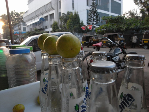 lime soda stand/south india
