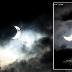 Annular SOLAR ECLIPSE viewed from Malaysia on 26 January at 5.45pm (+8GMT)