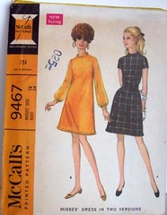 Vintage McCalls Pattern 9467 Mod 60s A Line Dress with rolled neckline and hem (Sassy By Design) Tags: she vintage flickr dress sewing patterns womens international cast etsy size12 sewingpatterns alinedress rolledhem bust34 sassybydesign hip36 waist255 rolledneckline mccalls9467