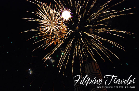 Enchanted Kingdom fireworks