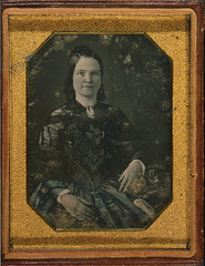 [Mary Todd Lincoln, wife of Abraham Lincoln. Three-quarter length portrait, seated, facing front] (LOC)