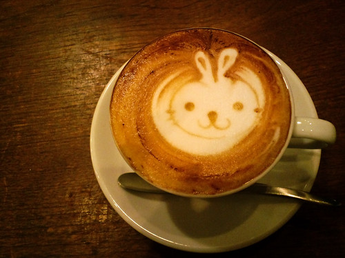 bunny cappucchino ;)