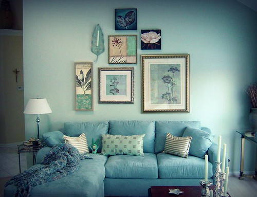 Living Room Decorating Ideas Blue