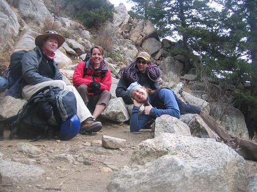 Xanthe, Kristi, Brian, & Clare at Riviera