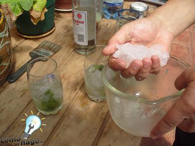 Picando el hielo - Cómo hacer mojitos