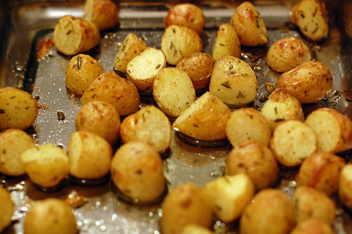 Roasted Pearl Potatoes