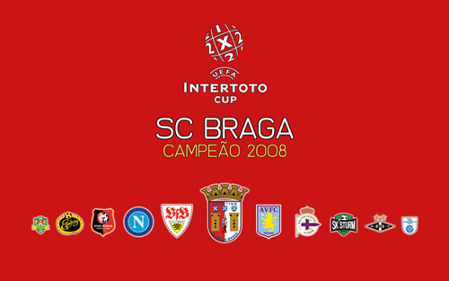 UEFA Intertoto Cup - Braga 2008