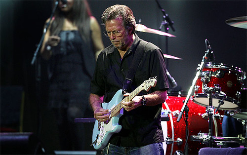 Eric Clapton 4 March 2009 Vector Arena Auckland New Zealand