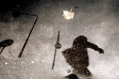 After the rain (Donato Buccella / sibemolle) Tags: italy milan reflection water colors milano coltrane asfalto dub lampioni specchio riflesso repubblica pozzanghera rainingdays sibemolle misonoinnamoratodellepozzanghere