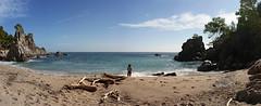 Marta in heaven (Chamo San /// Photography) Tags: blue sea sky panorama beach azul mar playa bleu cielo panoramica marta cala