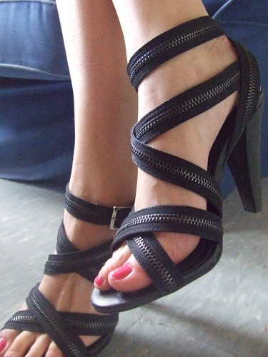 Zippered Heels, F21