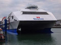 "Stena HSS "" Explorer "" (Routeman) Tags: explorer catamaran stena holyhead hss"