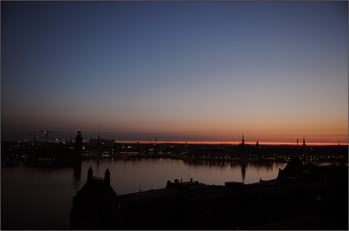 Stockholm sunrise 20090405
