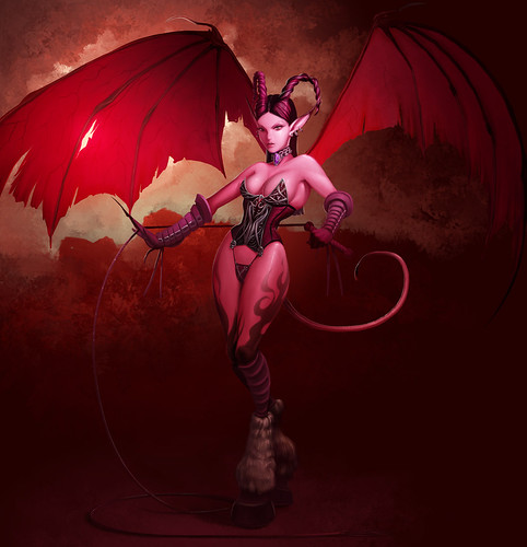 WOW Succubus by Andrew Hibner