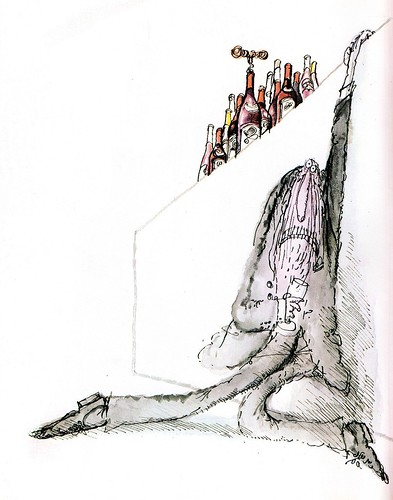 Ronald Searle - Winespeak