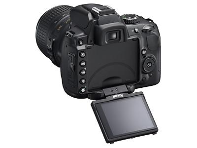 Tilt-swivel rear LCD on the Nikon D5000 -- Nice!
