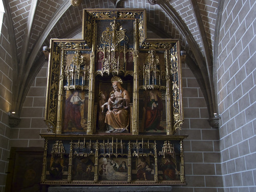 Retablo gótico-renacentista de la Capilla de Santa Ana