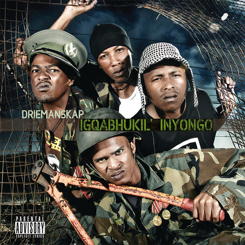 Driemanskap - Igqabhukil' Inyongo - CD Artwork