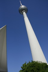 Fernsehturm (Corsi Michele) Tags: berlin fernsehturm berlino deutschetelekom invitedby abouttobeusedforcommercialpurposes