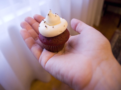 the power of cupcake within your palm