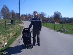 Promenad längs Backavägen